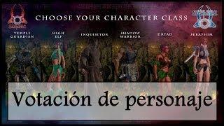 Votación - Elección de personaje para el gameplay - Sacred 2: Ice & blood