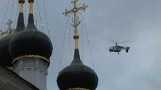 ВЕРТОЛЕТ КА-226 ''ПОЛИЦИЯ'' НАД ОРДЫНКОЙ