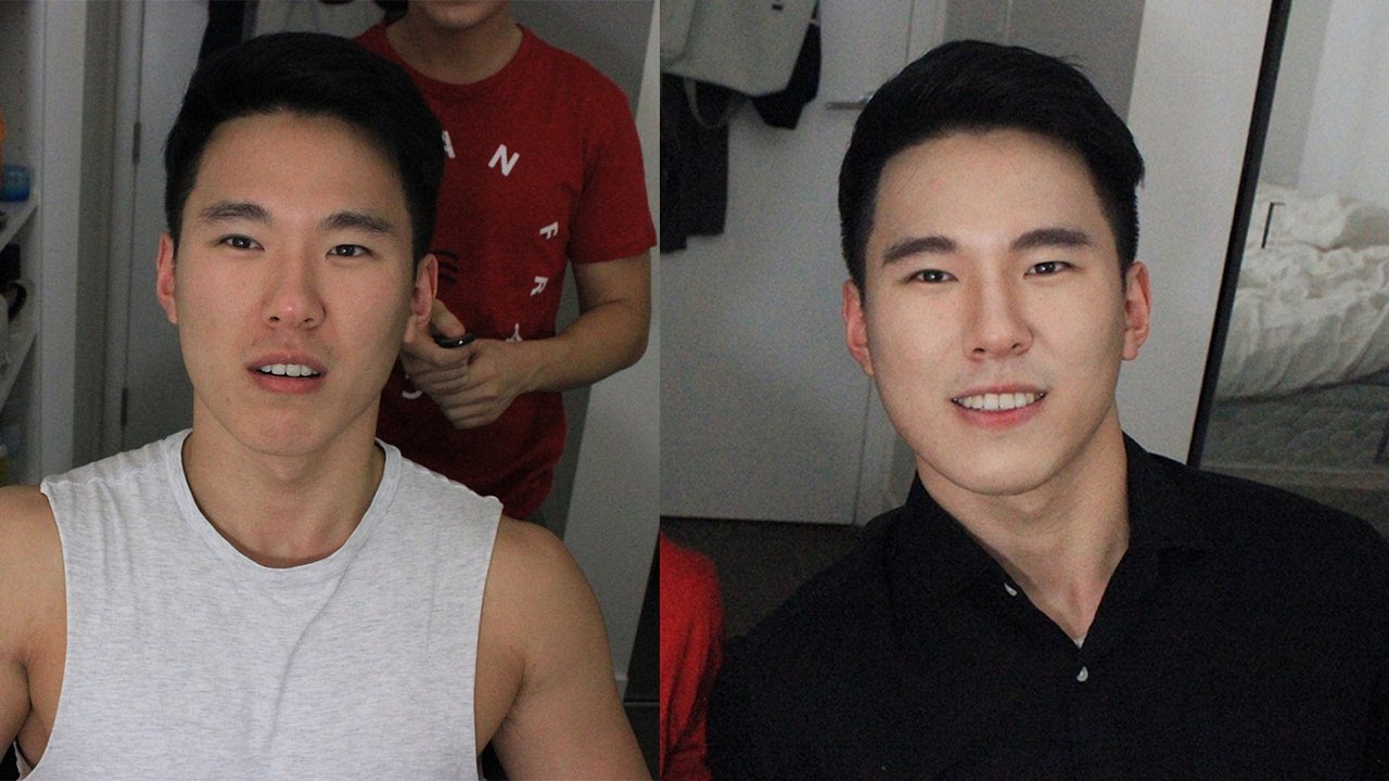 Kpop Makeup For Guys Korean Male Makeup Tut...