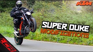 KTM Super Duke Getting Modded 😎 How