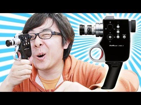 使い方がぜんぜんわからない!古過ぎて新しいムービーカメラ!チノン Bellami HD-1がやってきた!その1