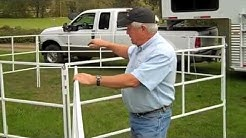 Corrals 2 Go! Portable Travel Corral Panel System