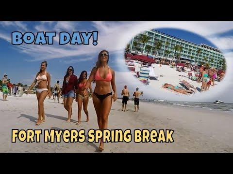 Boat Day! Fort Myers Beach Spring Break!!! | StewarTV