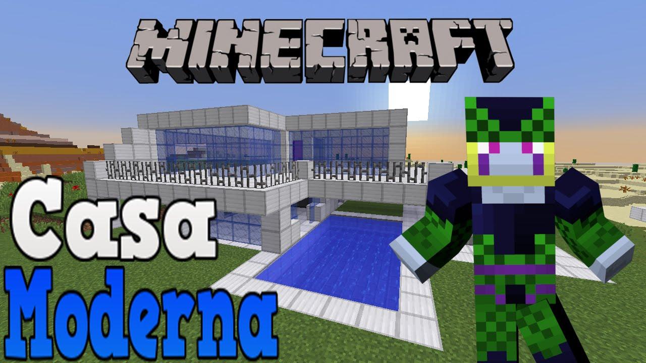 Minecraft ita ep 457 casa moderna youtube for Casa moderna minecraft ita download