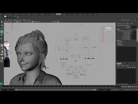 Face cap expression capture modification Script for maya
