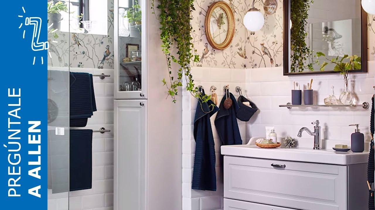 Toallas Bano Ikea.Como Organizar El Bano E Integrar Una Zona De Lavanderia Ikea