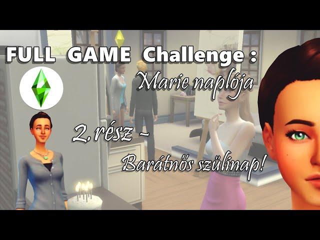 BARÁTNŐS SZÜLINAP! - Marie Naplója 2.rész, FULL GAME Challenge