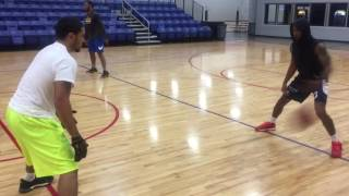 Pro Training Session (Jazz Ferguson, Peyton Siva, Keisten Jones, Chris Dowe