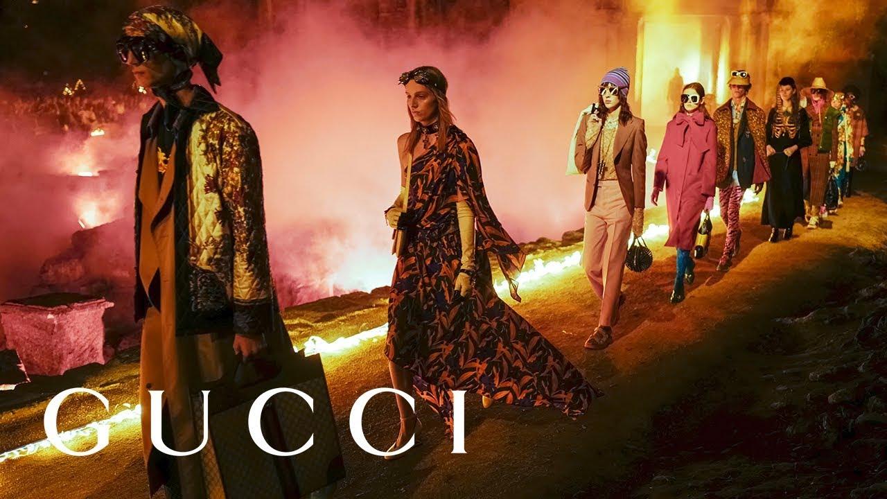 Gucci Cruise 2019 Fashion Show: Full Video
