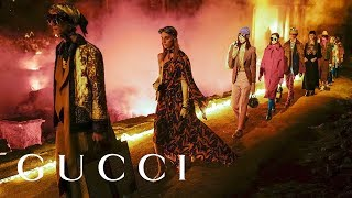 Gucci神祕的音樂饗宴 ~2018/2019 時裝秀現場!