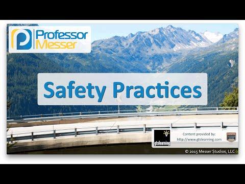 Descargar Video Safety Practices - CompTIA Network+ N10-006 - 5.6
