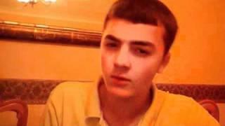 JLS - Aidan singing jls.wmv