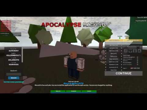 Roblox Apocalypse Rising Remade Codes Not Click Bait Youtube