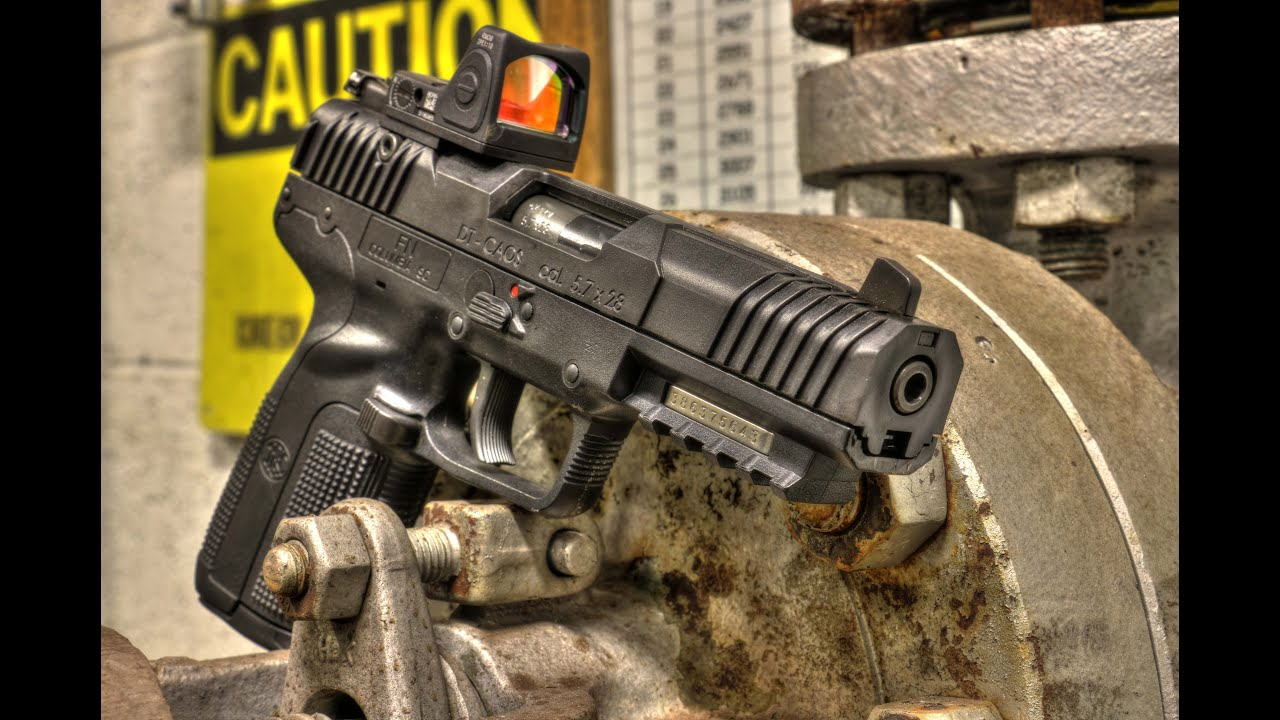 New Clothes For Your FN Five-seveN MK2, DT-CAOS Slide Cover