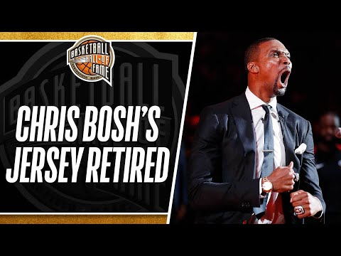 Chris Bosh Gets His #1 Jersey Retired In Miami | March 26, 2019 thumbnail