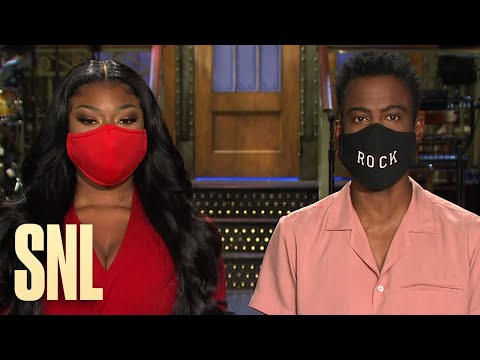 Chris Rock and Megan Thee Stallion Aren't Worried about SNL's Season Premiere