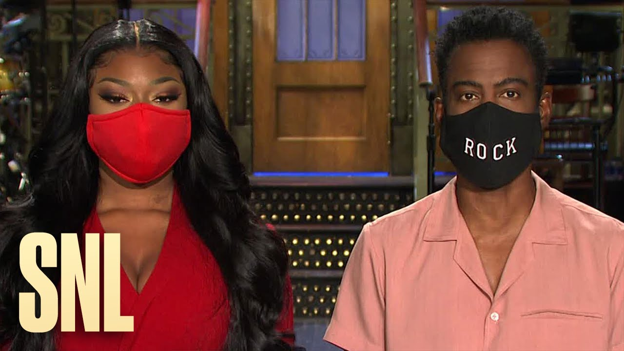 chris rock and megan thee stallion aren t worried about snl s season premiere youtube chris rock and megan thee stallion aren t worried about snl s season premiere