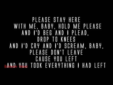 Eminem - Stronger Than I Was ( Lyrics ) MMLP2