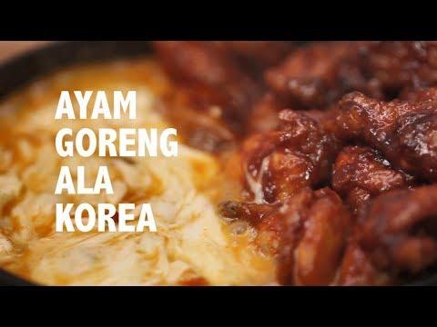 resep-sedap:-ayam-goreng-ala-korea