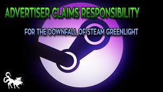 Game Dev turned Advertiser claims sole responsibility for Steam Greenlight Failure