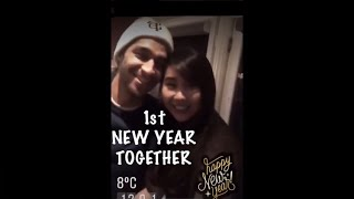Wil Dasovich & Alodia Gosiengfiao's First New Year Together #wilodia Ft Vlogsquad