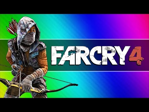 Far Cry 4 Funny Moments #3 - Gyrocopter Grappling, Headless Glitch, Repair Tool Fun!
