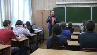 Адвокат Анвар Галимов - лекция для учащихся Московского колледжа № 16(Анвар Галимов - адвокат Коллегии адвокатов города Москвы