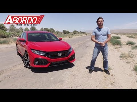 Honda Civic Si 2017 Prueba A Bordo Completa