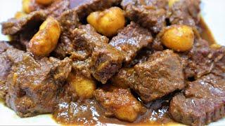 Semur daging sapi yang empuk dan gurih (trik dan tips memasak semur) untuk lebar