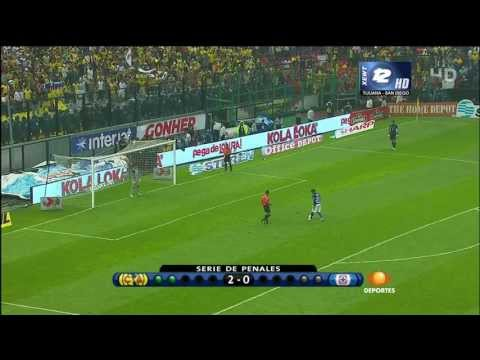 América vs Cruz Azul  Final vuelta 2013 Penales HD 1080.