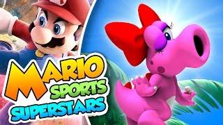 ¡La maldición de Birdo! - Mario Sports Superstars (3DS) con @Levengames y @Naishys