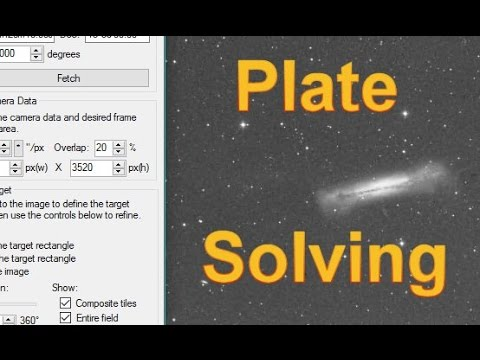 How to Setup Plate-Solving and an Automatic Meridian Flip (SGP)