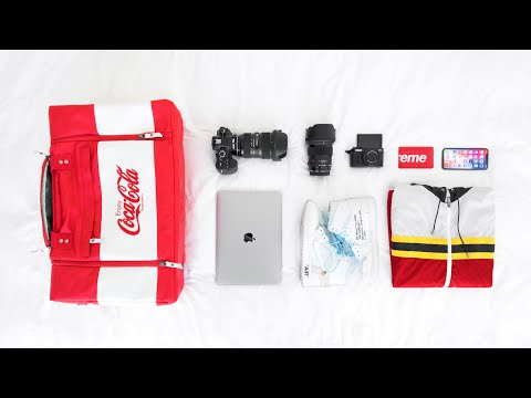 WHAT'S IN MY OVERNIGHT TECH BAG | 2018