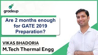 2 Months Strategy for GATE 2019 Preparation
