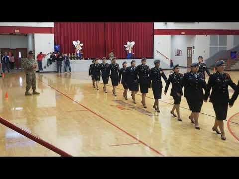 West Creek High School (Unarmed Platoon)