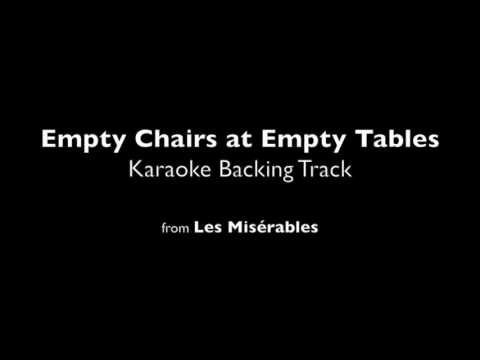 "Empty Chairs at Empty Tables (Karaoke Backing Track) from ""Les Misérables"""