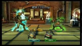 Teenage Mutant Ninja Turtles Smash-Up -- 9 October 2011, Wi-Fi Matchmaking #01
