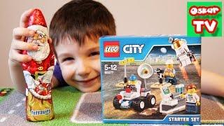 Подарки от Деда Мороза Распаковка Лего Lego Starting Set шоколадный дед мороз(, 2015-12-11T12:53:50.000Z)
