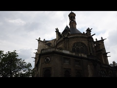 (4K)Travel to Paris 2014 - Saint-Eustache, Paris サン・トゥスタッシュ教会