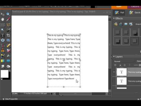 Photoshop elements tip force justify text youtube photoshop elements tip force justify text ccuart Image collections