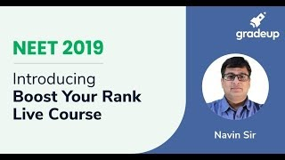 Introduction to Boost Your Rank Course for NEET 2019!