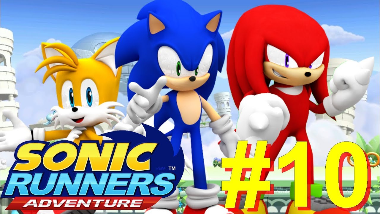 Sonic Runners Adventure [1080p/60FPS] part 10 Sky Sanctuary Zone