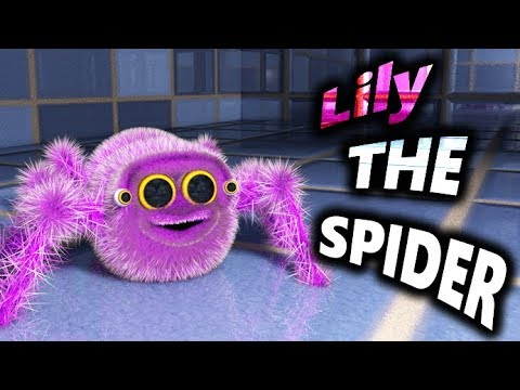 LILY THE SPIDER - Lucas The Spider's Sister - GIANT SPIDER