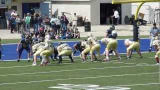 Cenerini stops St. Pierre at the 1 yard line