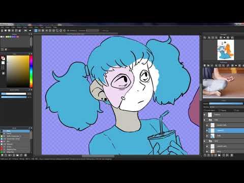 Brain Freeze | Sally Face Speedpaint