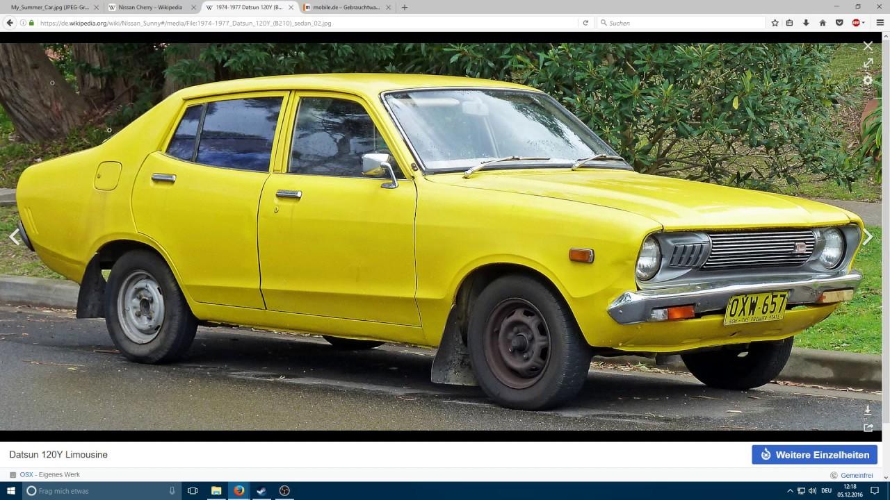 025 ger my summer car datsun 100a was reparieren