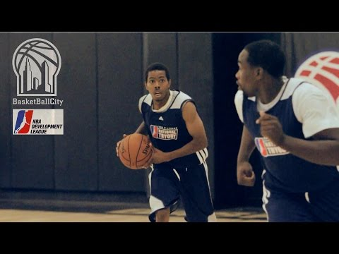 NBA D-League Tryouts @ Basketball City NYC | 2014