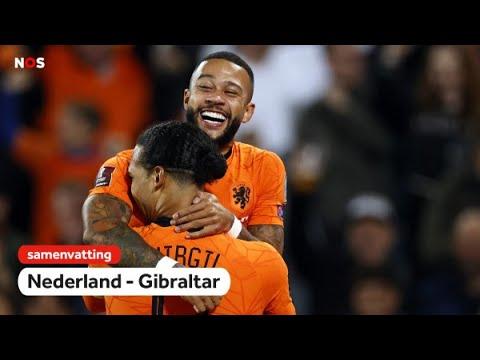 Verbreekt Oranje record?!   Samenvatting Nederland – Gibraltar   WK-kwalificatie