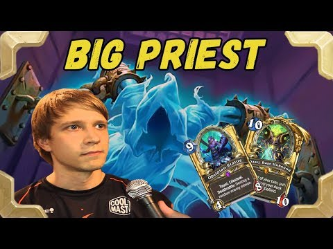 Savjz is trying Big priest in the legend (THe Frozen Throne)