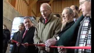 Inauguration de la première usine de granulés bois EO2. www.eo2.fr